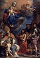 Virgin and Child with Four Saints - Guercino
