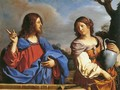 Jesus and the Samaritan Woman at the Well - Guercino