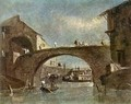 Bridge at Dolo - Francesco Guardi
