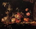 Still-Life with Flowers and Fruit - Jan Davidsz. De Heem