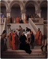 The Last Moments of Doge Marin Faliero - Francesco Paolo Hayez