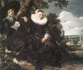 Married Couple in a Garden - Frans Hals