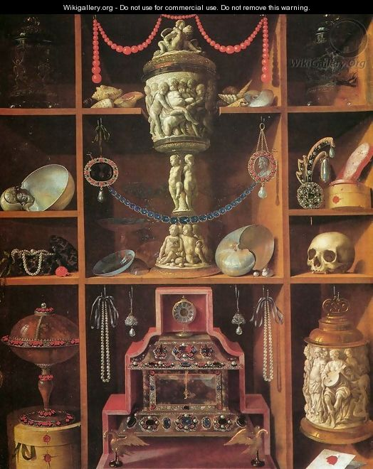Cabinets of Curiosities - Johann Georg (also Hintz, Hainz, Heintz) Hinz