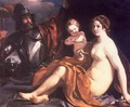 Venus, Mars and Cupid - Guercino