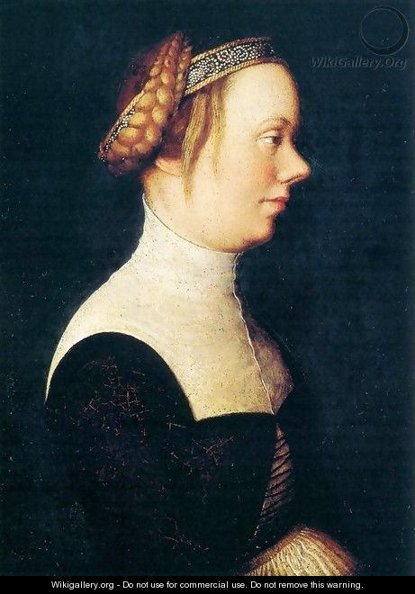 Portrait of a Woman - Hans, The Elder Holbein