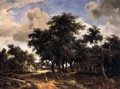 Village Street under Trees - Meindert Hobbema