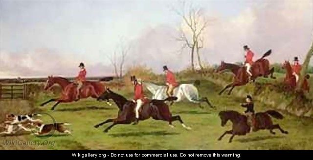 Full Cry with His First Hunt - John Dalby