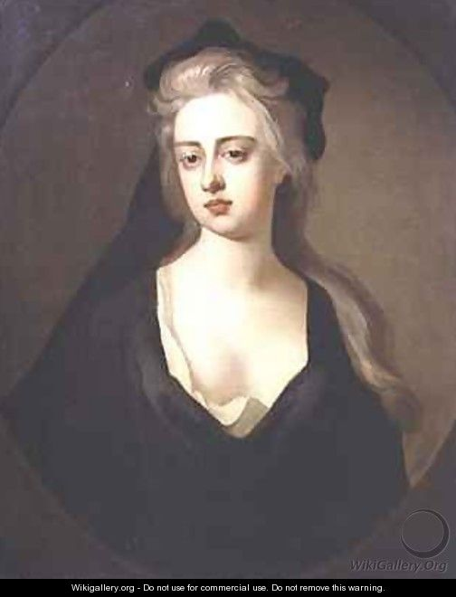 Portrait of Jane Hyde Countess of Clarendon and Rochester - Michael Dahl