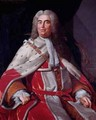 Sir Robert Walpole Earl of Orford 1676-1745 first Lord of the Treasury and Chancellor of the Exchequer - Michael Dahl