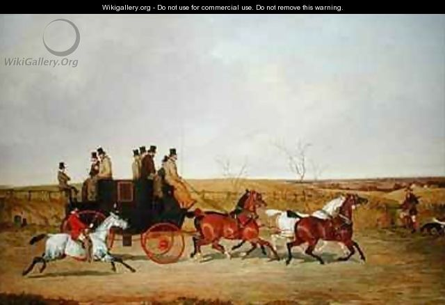 Horse and Carriage - David of York Dalby