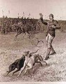 Coursing Slipping the Greyhounds - S. T. Dadd