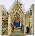 Triptych with Madonna and Child - Bernardo Daddi
