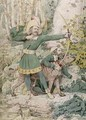 Sketch of Robin Hood - Richard Dadd