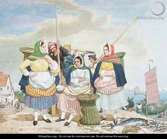 Fish market by the sea richard dadd for Sea world fish market