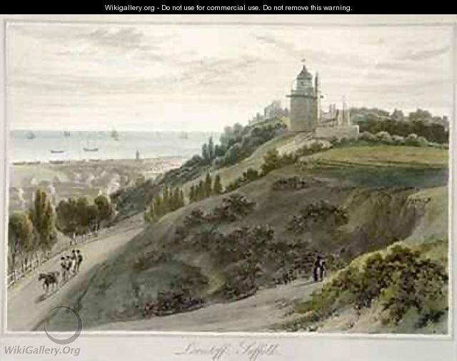 Lowestoft Suffolk - William Daniell, R. A.