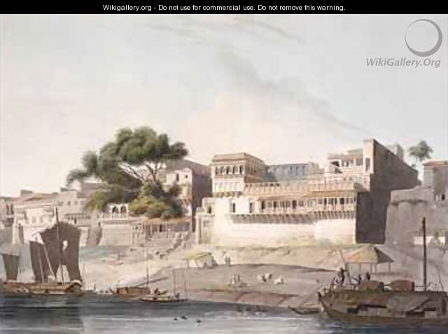 Part of the City of Patna on the River Ganges 2 - Thomas Daniell