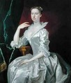 Portrait of Mrs Elizabeth Ingram - Bartholomew Dandridge