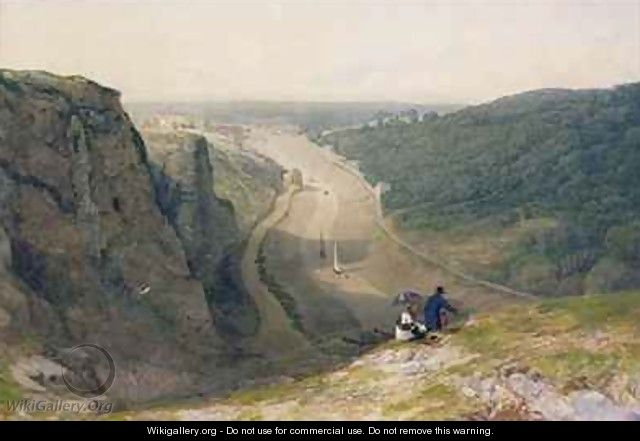 The Avon Gorge looking over Clifton - Francis Danby