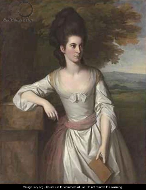 Portrait of Mrs Vere 2 - Sir Nathaniel Dance-Holland