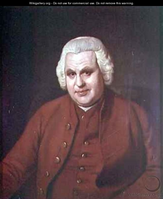 Portrait of Thomas Mudge 1715-94 of the Worshipful Company of Clockmakers - Sir Nathaniel Dance-Holland