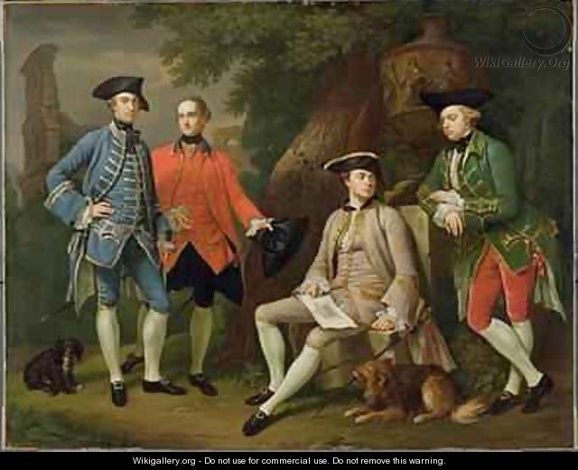 James Grant of Grant John Mytton the Honorable Thomas Robinson and Thomas Wynne - Sir Nathaniel Dance-Holland
