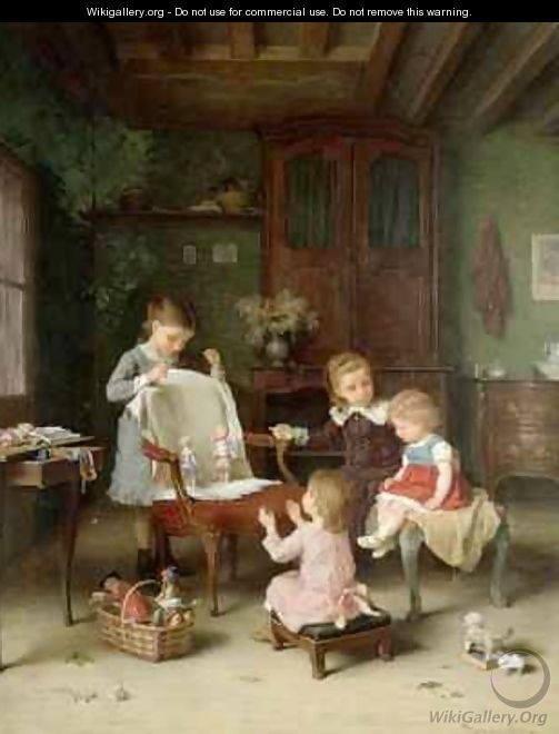 The Happy Family - Andre Henri Dargelas