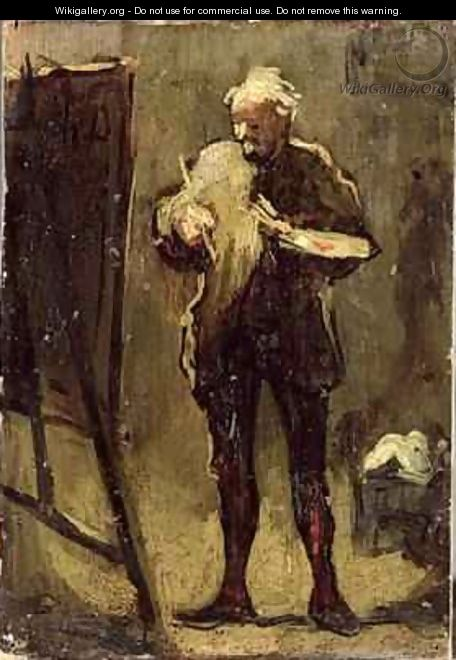 Self Portrait 2 - Honoré Daumier