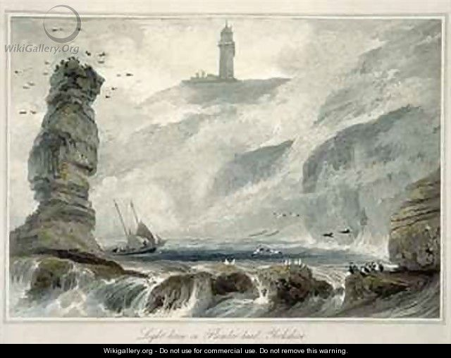 Lighthouse on Flamborough Head - William Daniell, R. A.