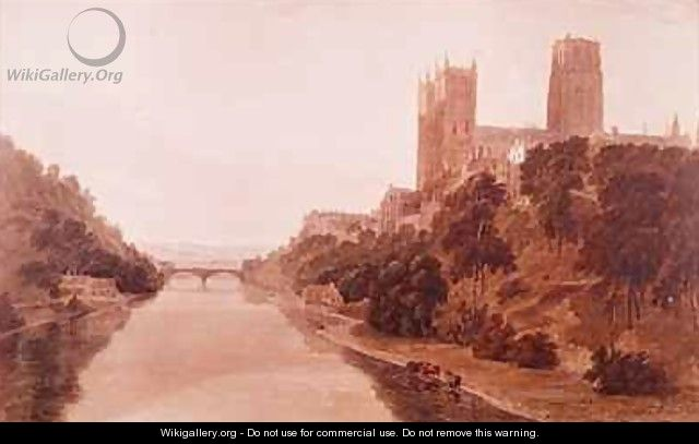 Durham Cathedral - William Daniell, R. A.