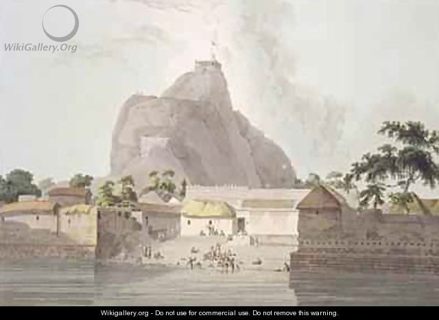 View in the Fort of Trichinopoly - (after) Daniell, Thomas