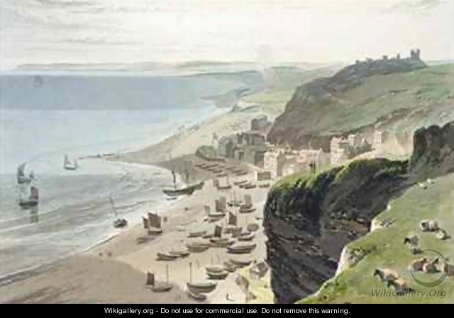 Hastings from the East Cliff - William Daniell, R. A.