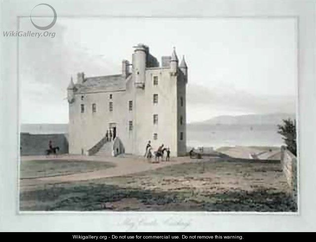 Mey Castle Caithness - William Daniell, R. A.