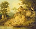 The Banks of the Ganges - William Daniell, R. A.