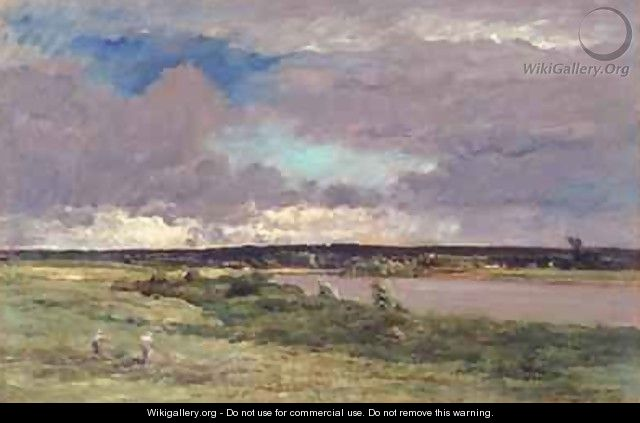 The Coming Storm Early Spring - (after) Daubigny, Charles Francois