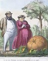 The King of Pumpkins receiving the homage of his subjects - Honoré Daumier