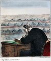 Caricature of a Deputy at the Assembly - Honoré Daumier