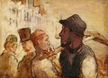 Workmen on the Street - Honoré Daumier
