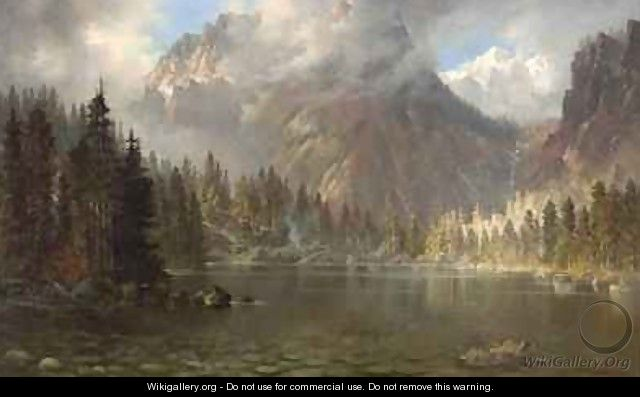 Mount Tallac California from Cascade Lake - Edwin Deakin