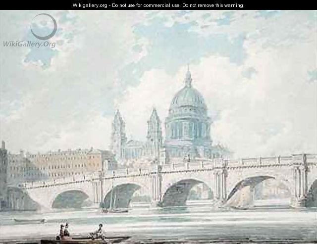 St Pauls Cathedral - Edward Dayes