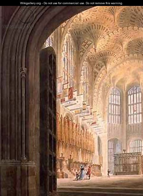 The Henry VII Chapel Westminster - Edward Dayes