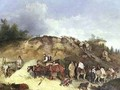 Digging for Fullers Earth on Hampstead Heath - Richard Barrett Davis