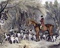 W Head Huntsman to the Donnington Hounds - Richard Barrett Davis