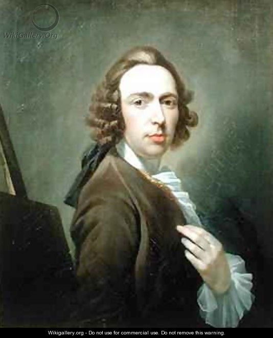 Self Portrait - William Delacour