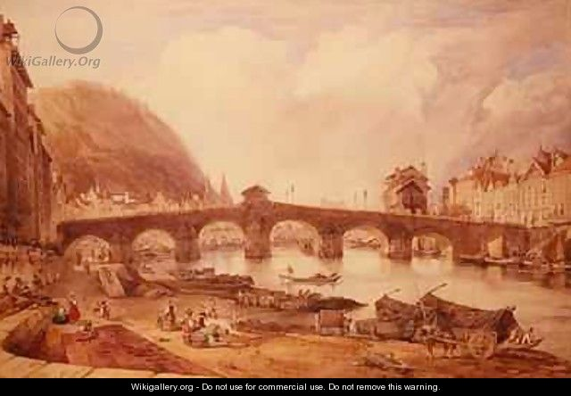Bridge of Arches Liege - William Alfred Delamotte