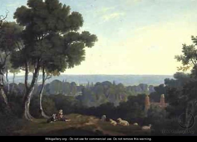 Scene in the Vale of Marlow - William Alfred Delamotte
