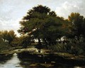 On the Isis Waterperry Oxfordshire - William Alfred Delamotte