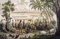 Pirogue races on the Bassac River - (after) Delaporte, Louis
