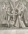 Celebration of the Marriage of James VI and I 1566-1625 and Anne of Denmark 1574-1619 - Francis Delaram