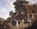 A Village Wedding - Leonard Defrance