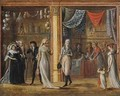 The Gallery of the Palais Royal - Philibert-Louis Debucourt